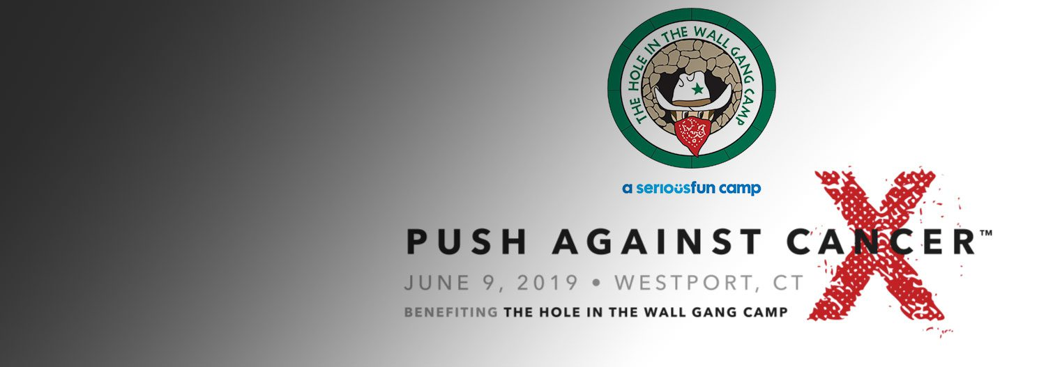 Push Against Cancer X event