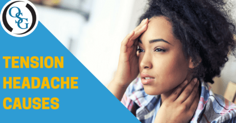 all the causes of a tension headache