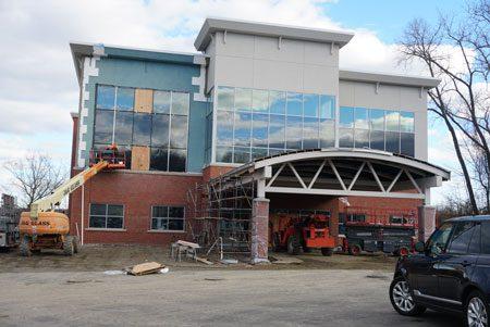 Construction of new Shelton office
