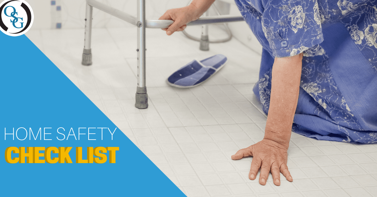 Home Safety Checklist | Orthopaedic Doctor Fairfield