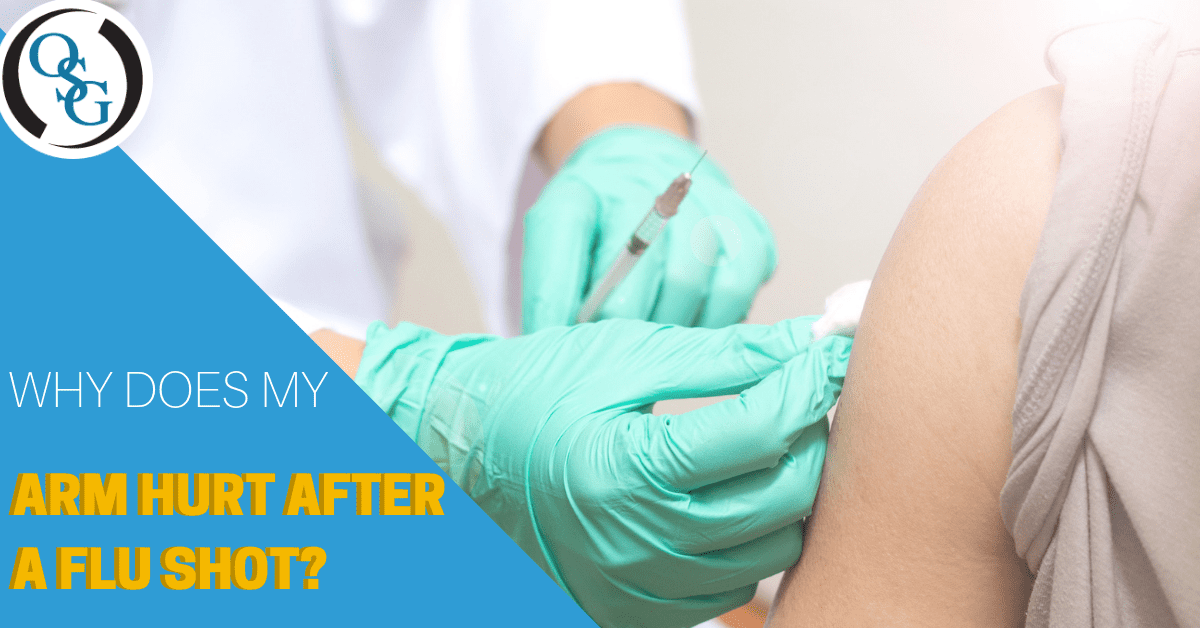 Why Does My Arm Hurt After a Flu Shot? | CT Orthopedics
